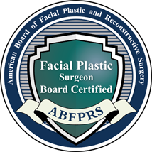 Facial Plastic Surgeon Board Certified ABFPRS