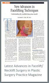 Latest Advances in Face lift Necklift Surgery