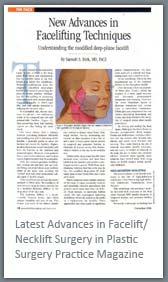 Latest Advances in Face lift Necklift Surgery