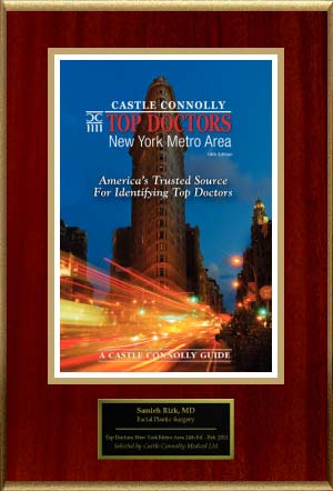 Castle Connolly: TOP DOCTORS. New York Metro Area